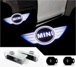 MINI LUCES LASER CORTESIA LOGO LED