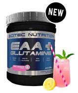 SCITEC NUTRITION EAA + GLUTAMINE (300G DOSE) 4 Geschmacksrichtungen!