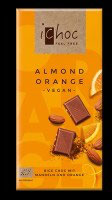 ichoc Almond Orange, 80g