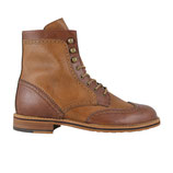 Brogue Boots Herrenschuh braun