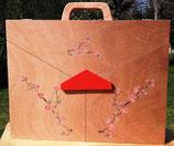 Butaï peint branche cerisier japonais