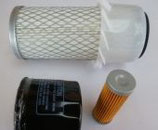 Kit de filtros Kubota series B