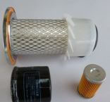 Kit de filtros Yanmar series F tipo 1