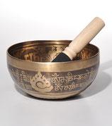 Klangschale Mandalagravur