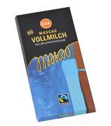 Mascao Schokolade Vollmilch 100g