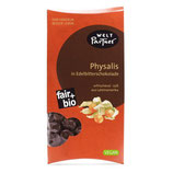 Physalis in Edelbitterschokolade 100g, bio