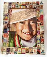 Bilderrahmen Briefmarkenmotiv