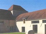Hébergement en chambre double dans les locaux de la Ferme du Ru Chailly à Fossoy.