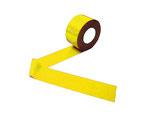 Kunststoffband gelb