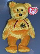 Ty Beanie Baby Teddybär Prinz von Gold
