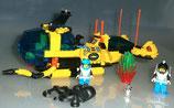 Lego System 6175 Aquanauts U-Boot Submarine Deep Sea mit Anleitung, gebraucht