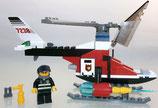 Lego City 7238 Feuerwehrhubschrauber