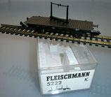 Fleischmann H0 5222 K Drehschemelwagen der Deutschen Reichsbahn