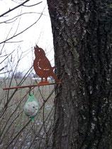 Maisenknödelhalter | Vogel oder Eichhörnchen