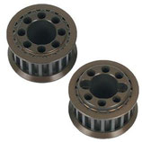 R8.0 18T 6mm Belt Pulley -Alu