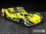 Bittydesign Robox 1/12 Pan-Car Body Ultra Lite Weight