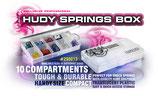 HUDY SPRINGS  BOX - 10-COMPARTMENTS - HUDY SCATOLA PER MOLLE AMM.