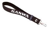 Sanwa Wrist Strap Black for Pistol Grip Transmitter - CINGHIA A POLSO PER TRASMITTENTE SANWA