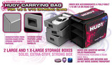 HUDY 1/10 & 1/8 Carrying Bag + Tool Bag - Exclusive Edition
