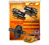 STEEL SOLID AXLE DRIVESHAFT ADAPTERS - HUDY SPRING STEEL