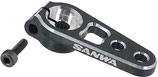 Sanwa Aluminum Servo Horn Clamp - Black (23 teeth)
