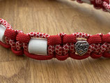 """EM Keramik Paracord-Halsband 36 - 38cm (161-108-11-Herz """"love"""")"""