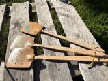 Fliegentöter aus Holz-Leder (ohne Verzierungen)