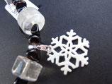 Silberanhänger Schneeflocke