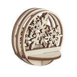 Holz-Steckteil Schneeflocke 5.5cm ø