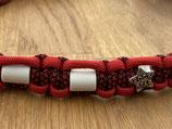 EM Keramik Paracord-Halsband 51 - 53cm (108-113-16- Rockstar)