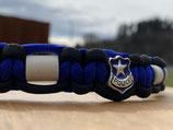 EM Keramik Paracord-Halsband 48-50cm (134-101-15+ Police blue)