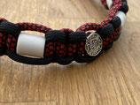 EM Keramik Paracord-Halsband 42 - 44cm (101-113-13-Fire)