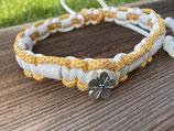 EM Keramik Paracord-Halsband 45 - 47cm (105-141-14 2x Blume)