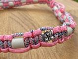 EM Keramik Paracord-Halsband 54-56cm (5200-141-17-2x Schmetterling)