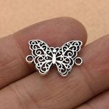 Metall - Verbinder Schmetterling
