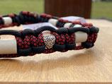 EM Keramik Paracord-Halsband 39 - 41cm (113-101-12 + Herz Love)