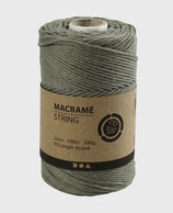 Makramée grün ø2mm   Lm198   330g
