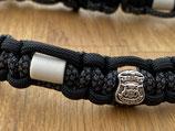 EM Keramik Paracord-Halsband 45 - 47cm (136-101-14-Police)
