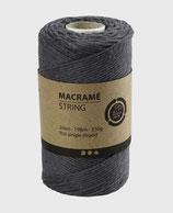 Makramée grau ø2mm   Lm198   330g