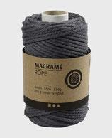 Makramée grau ø4mm   Lm55   330g