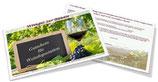Gutschein für Weindegustation