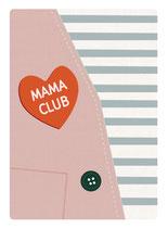 Mama Club Postkarte