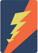 Blitz Postkarte