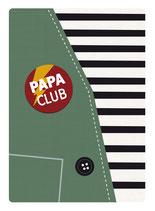 Papa Club Postkarte