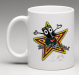 """Custom Cup - Chisterin;Toppy, """"That's all folks coffee addicted"""""""