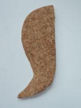 De externe calcaneaire wig 1mm rechter voet