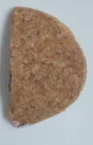 De interne calcaneaire wig 2mm linker voet