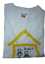 T-Shirt für Kinder, weiß - bedruckt -