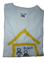 T-Shirt für Erwachsene, weiß - bedruckt -