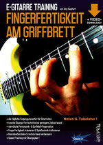 E-Gitarre Training - Fingerfertigkeit am Griffbrett (von Jörg Sieghart / Tunesday Bestellnummer: TUN09)